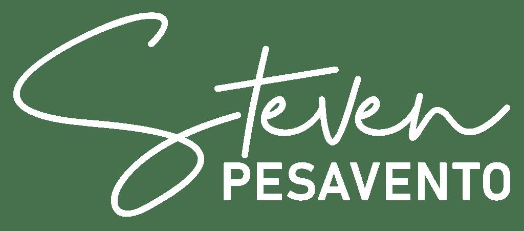 Steven Logo White